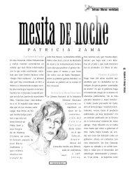 P A T R I C I A Z A M A - Revista EL BUHO