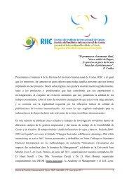 Presentación - Revista Digital del Instituto Internacional de Costos