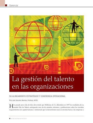 La gestión del talento en las organizaciones - INCAE Business ...