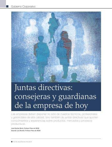 Juntas directivas: consejeras y guardianas de la empresa de hoy