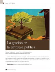La gestión en la empresa pública - INCAE Business Review