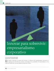 Innovar para sobrevivir: empresarialismo corporativo - INCAE ...