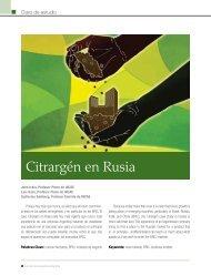 Citrargén en Rusia - INCAE Business Review