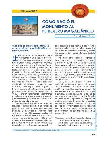 cómo nació el monumento al petrolero ... - Revista de Marina