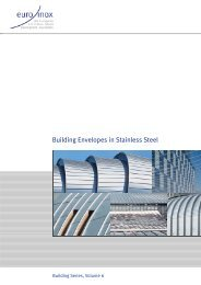 PDF: Building Envelopes in Stainless Steel - Euro Inox