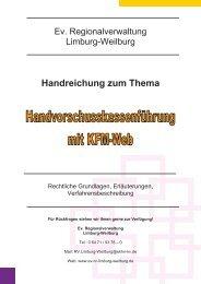 5. KFM-Web-Barkasse - Regionalverwaltung Limburg Weilburg