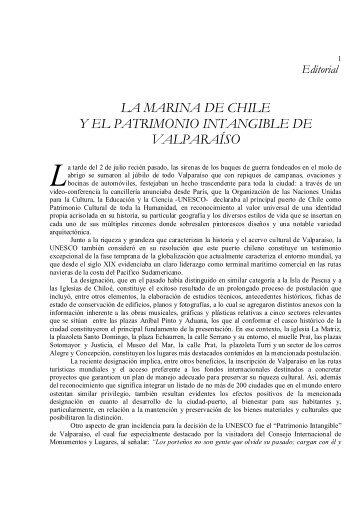 LA MARINA DE CHILE Y EL PATRIMONIO ... - Revista de Marina