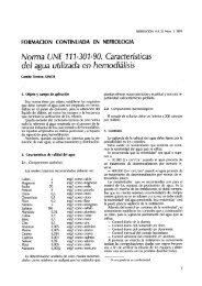 norma une 111-301-90. características del agua utilizada en ...