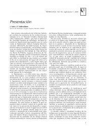 Presentación - Revista Nefrologia