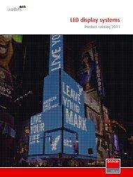 LED product catalog - Barco