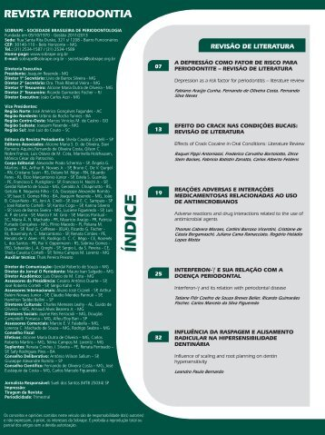 Revista Perio Março 2013.indd - Revista Sobrape
