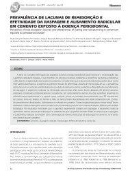 Revista Periodontia junho 2012 - 2a Rev.indd - Revista Sobrape