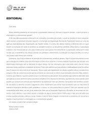 EDITORIAL - Revista Sobrape