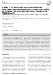 Revista Periodontia MAR 2012.indd - Revista Sobrape