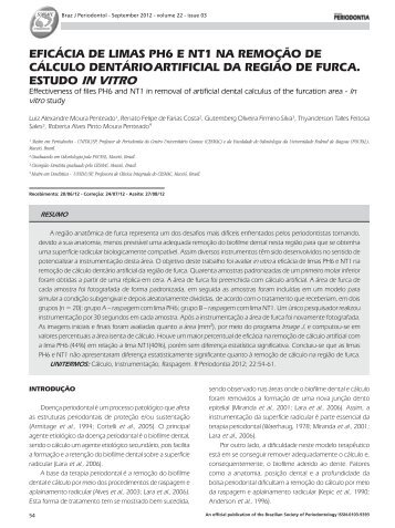 Revista Periodontia Setembro 2012.indd - Revista Sobrape