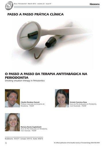 o passo a passo da terapia antitabágica na ... - Revista Sobrape
