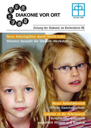 DIAKONIE VOR ORT - Diakonisches Werk im Kirchenkreis ...