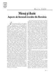 Mesaj şi iluzie. Aspecte ale literaturii rromilor din România