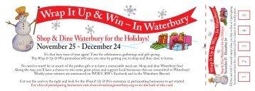 Wrap It Up & Win – In Waterbury Wrap It Up & W - Revitalizing ...