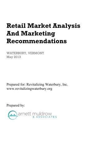 Retail Market Analysis - Revitalizing Waterbury