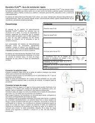 Revolabs FLX2TM– Guía de instalación rápida