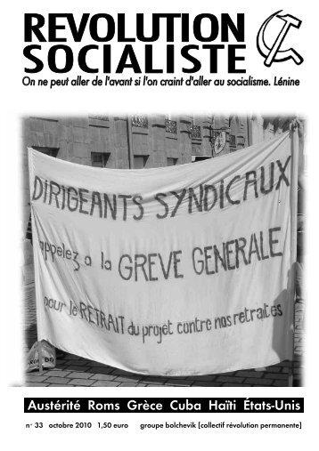 GB Revolution Socialiste 33.04.pub - Révolution Socialiste
