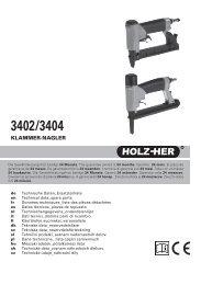 KLAMMER-NAGLER - Revotool