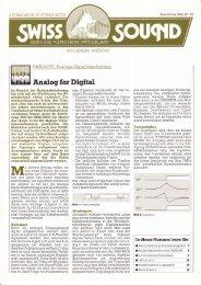 Analog for Digital - Revoxsammler