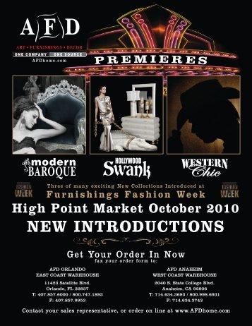 Furnishings Fashion Week High Point Market ... - Art & Frame Direct