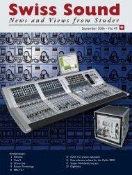 Swiss Sound 49 - Studer