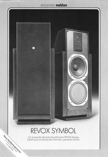 REVOX SYMBOL - Revoxsammler