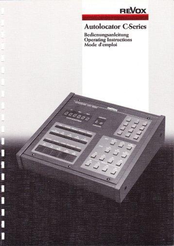 Autolocator C-series - Revoxsammler