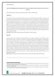 SP, v.7, n.1, p. 96-109, 2012 - Revista da Sociedade Brasileira de ...