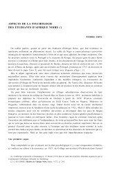 aspects de la psychologie des étudiants d'afrique noire (1)