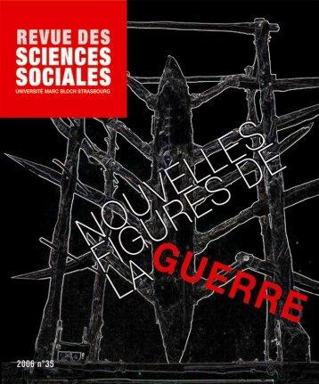 Comment - Revue des sciences sociales