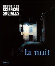 Nos - Revue des sciences sociales