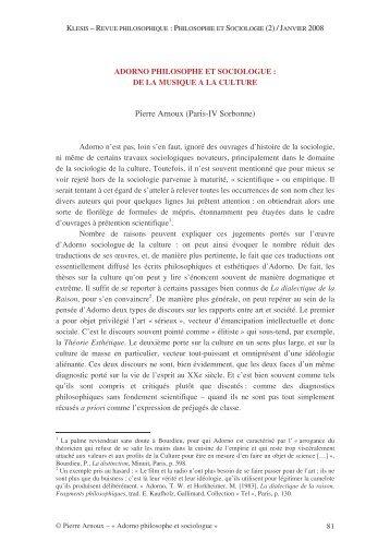 Klesis - Arnoux