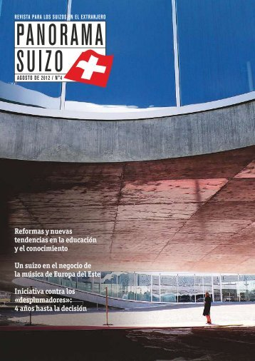 Download PDF Panorama Suizo 4/2012 Low ... - Schweizer Revue