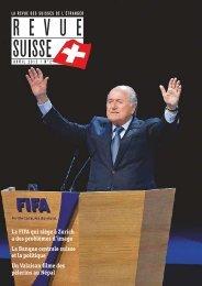 la fifa qui siège à Zurich a des problèmes d ... - Schweizer Revue