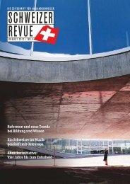 reformen und neue trends bei bildung und ... - Schweizer Revue