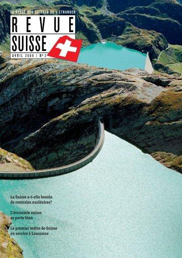 La Suisse a-t-elle besoin de centrales nucléaires ... - Schweizer Revue