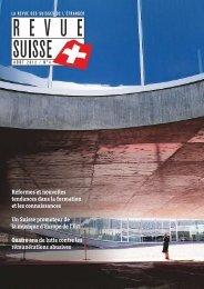 réformes et nouvelles tendances dans la ... - Schweizer Revue