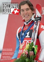 Download PDF Schweizer Revue 1/2010