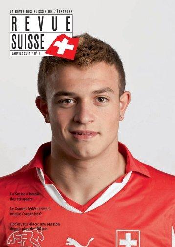 La Suisse a besoin des étrangers Le Conseil ... - Schweizer Revue