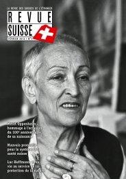 Meret Oppenheim – hommage à l'occasion du ... - Schweizer Revue