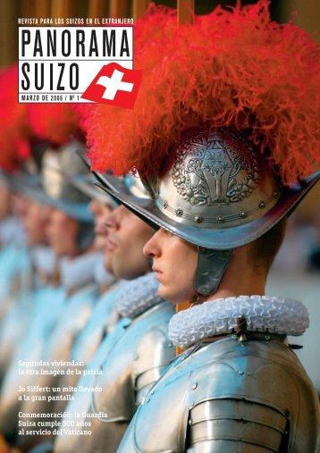 Download PDF Panorama Suizo 1/2006 - Schweizer Revue