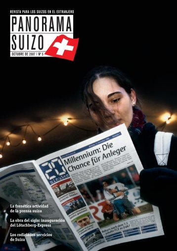 Download PDF Panorama Suizo 5/2007 - Schweizer Revue