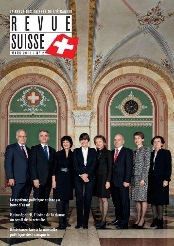 Le système politique suisse au banc d'essai ... - Schweizer Revue