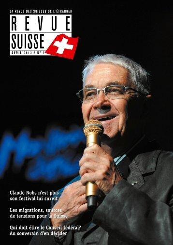 Claude Nobs n'est plus – son festival lui survit ... - Schweizer Revue