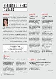 Regional Edition Canada - Schweizer Revue
